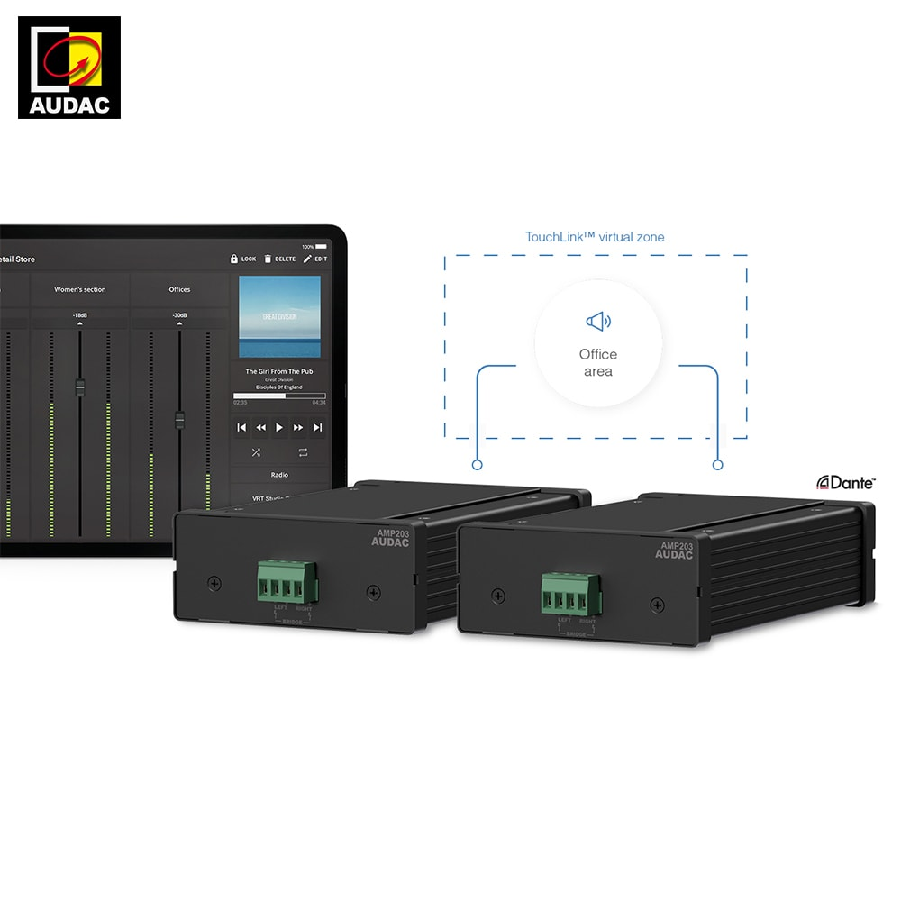 AUDAC launches Touchlink Technology - AUDAC News