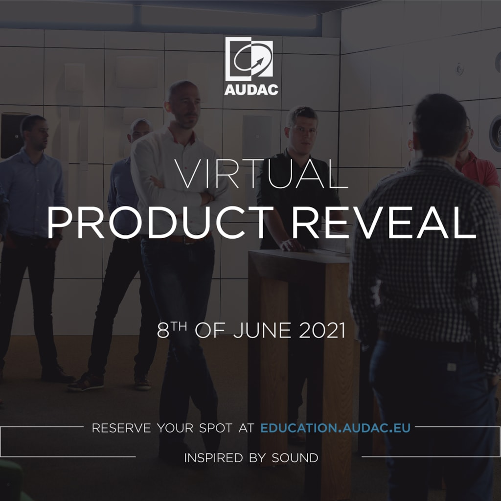 Virtual product reveal event -