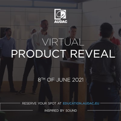 Virtual product reveal event