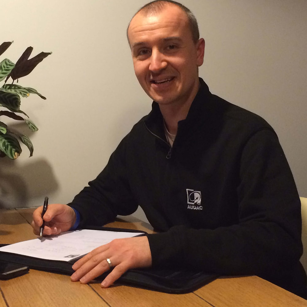 AUDAC Enthusiast - Adam Dullens, Audio Logistics -