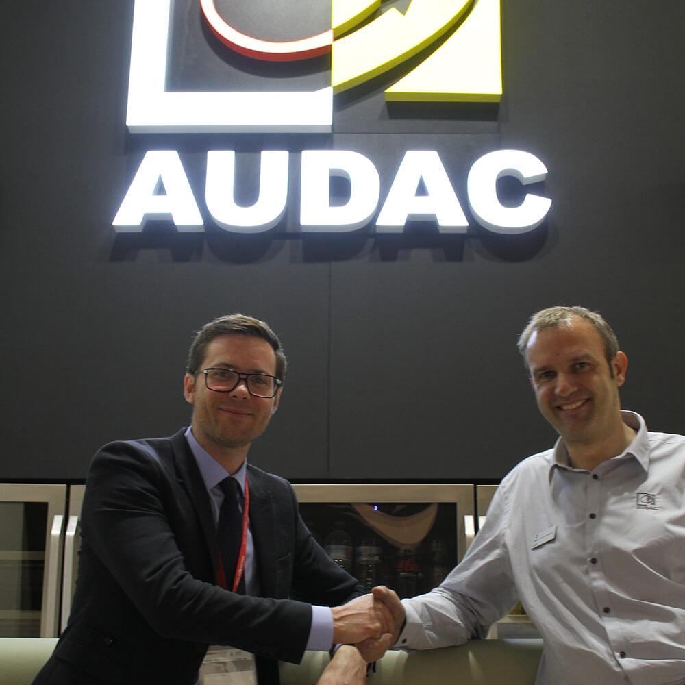 AUDAC names French distributor -