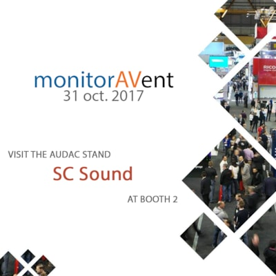 Visit AUDAC at monitorAVent Denmark