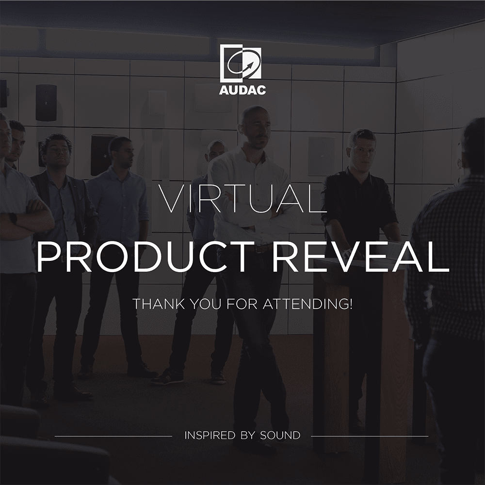 Thank you for attending the virtual product reveal -