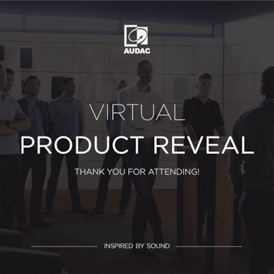 Thank you for attending the virtual product reveal