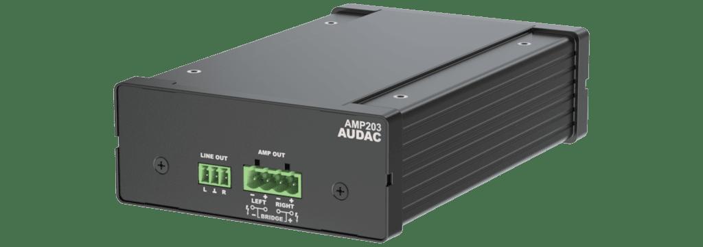 AMP203 - Dante™ mini stereo amplifier