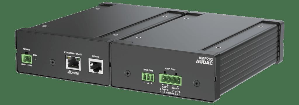 AMP203 - Web-based mini stereo amplifier