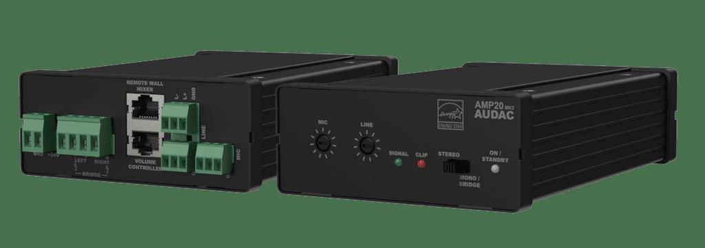 AMP20MK2 - Mini stereo amplifier 2 x 15W