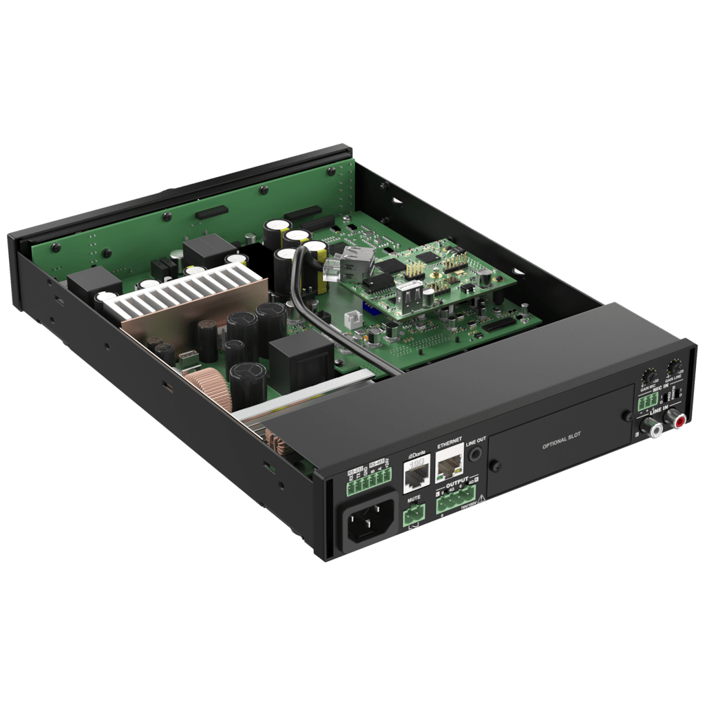 ANI44XT - Dante™ audio network interface 4 in / 4 out