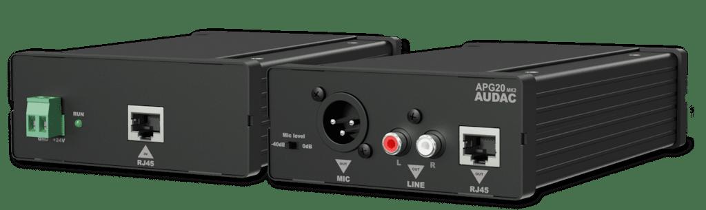 APG20 - Active audio transceivers RCA