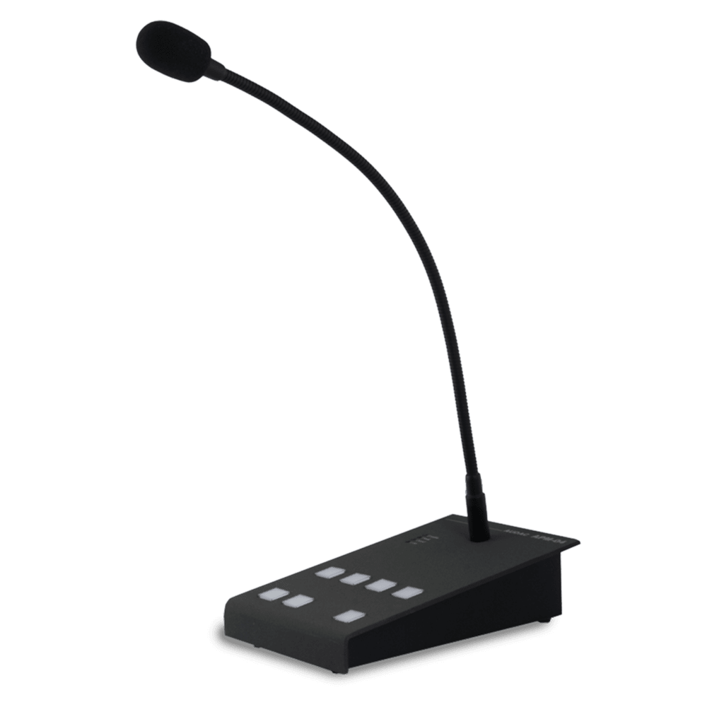 APM104MK2 - Digital paging microphone 4 zones