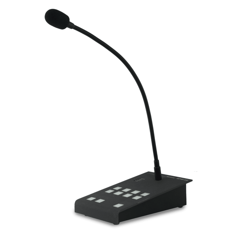 APM108MK2 - Digital paging microphone 8 zones