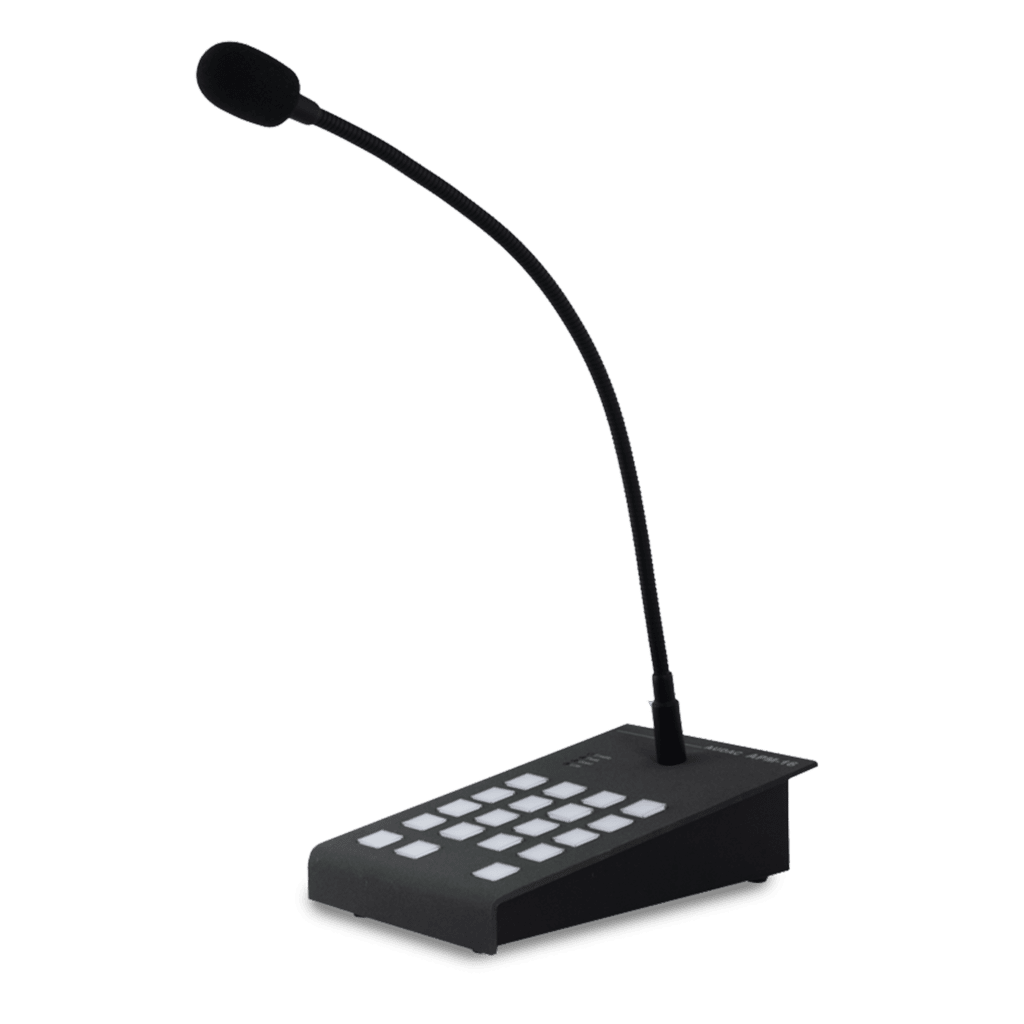 APM116MK2 - Digital paging microphone 16 zones