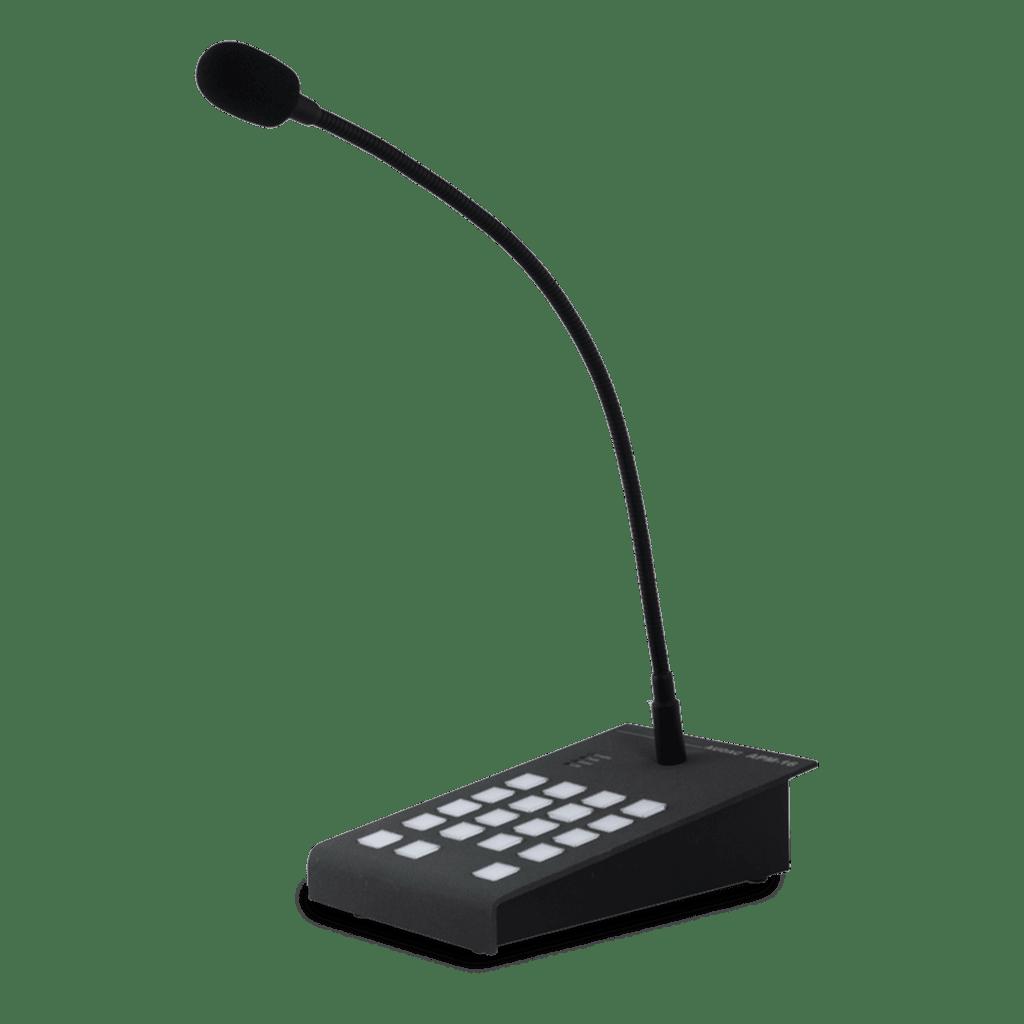 APM116MK2 - Digital paging microphone 16 zones