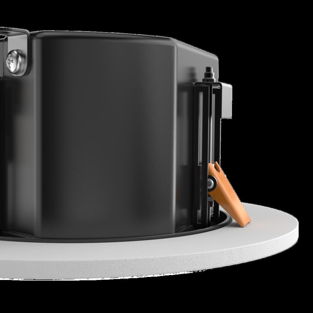 "CALI660 - Safelatch™ 2-way 6.5"" ceiling speaker with Twist-Fix™ grill"