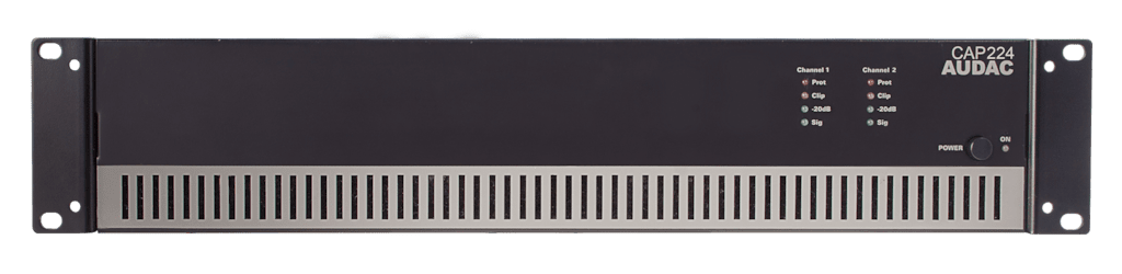 CAP224 - Dual-channel power amplifier 2 x 240W 100V