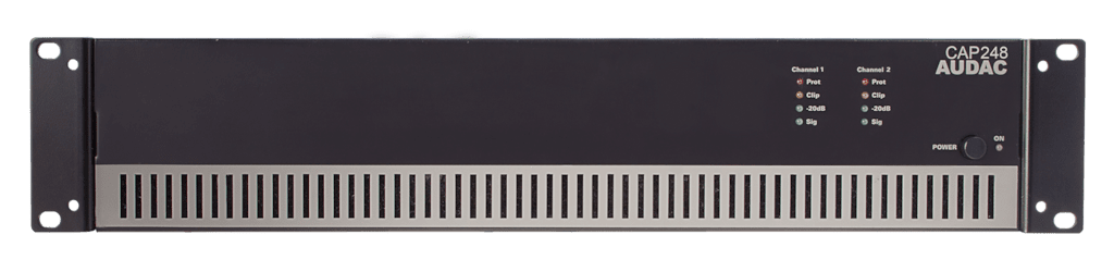 CAP248 - Dual-channel power amplifier 2 x 480W 100V