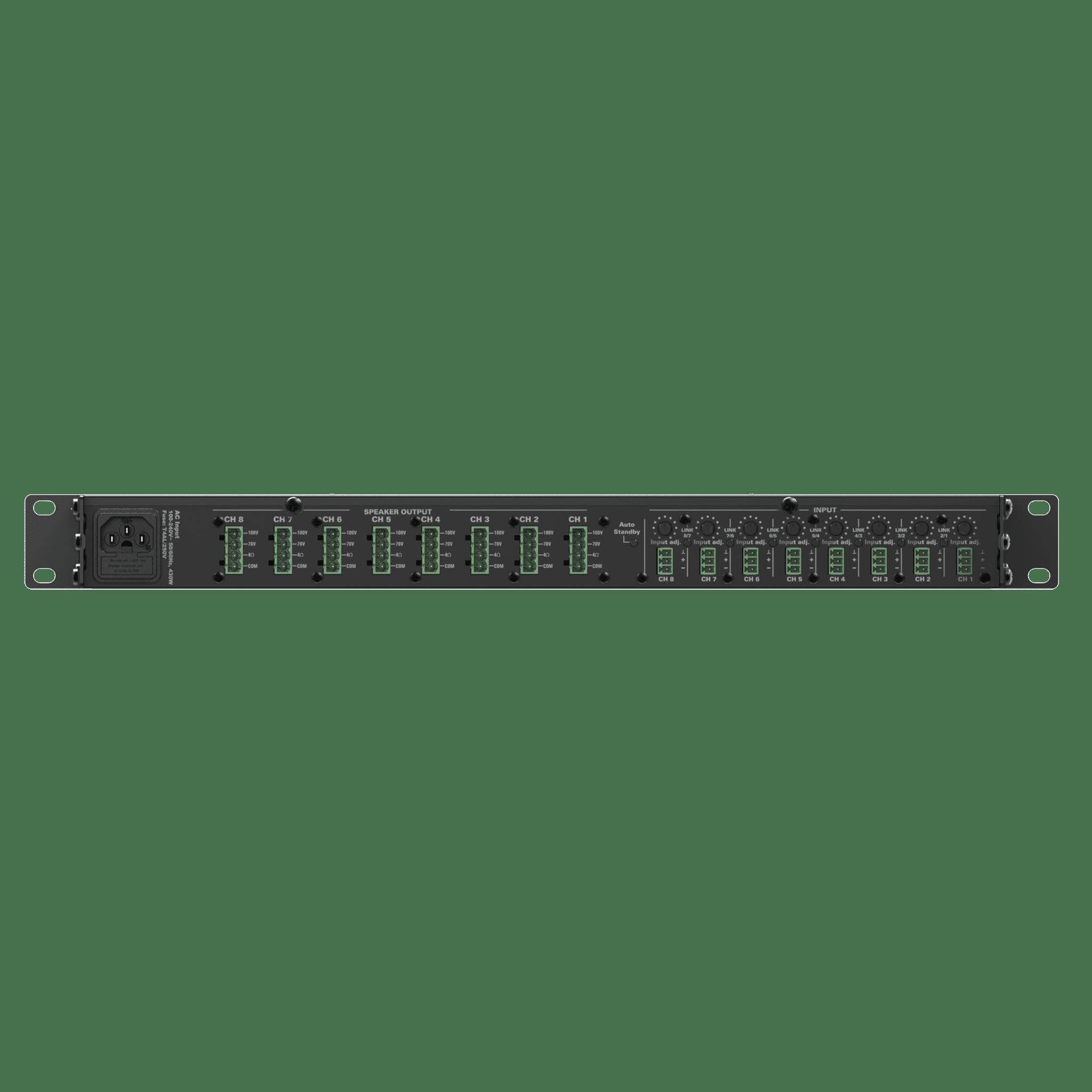 CEP803 - Multi-channel 4 Ohm power-efficient amplifier