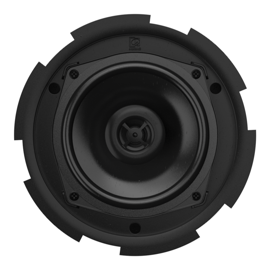 "CIRA5 - QuickFit™ 2-way 5 1/4"" ceiling speaker with TwistFix™ grill"