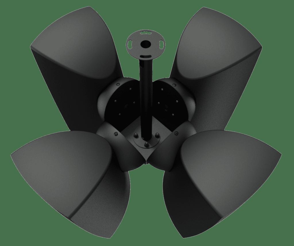 CMA164 - Cluster mounting set 4 x ATEO6 speaker