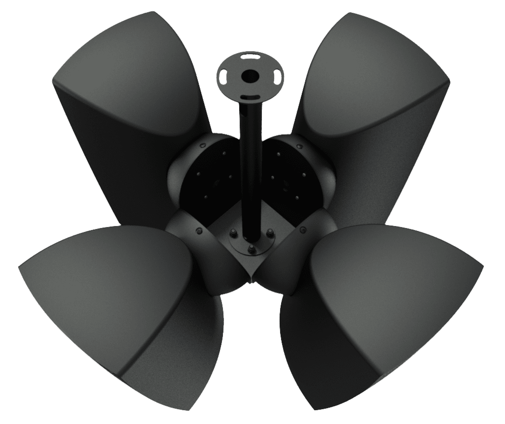 CMA164 - Cluster mounting set 4 x ATEO6 speaker