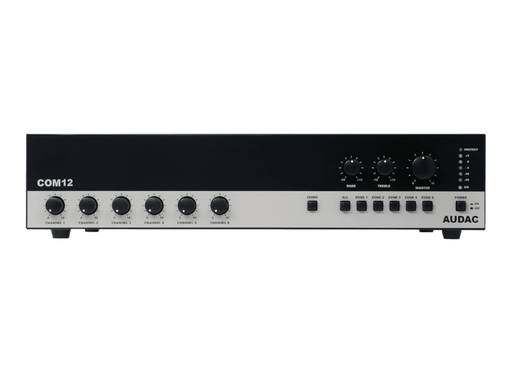 COM12 - Public address amplifier 120W 100V
