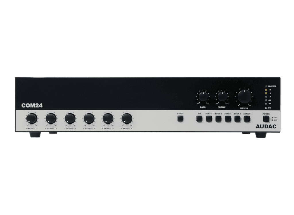 COM24 - Public address amplifier 240W 100V