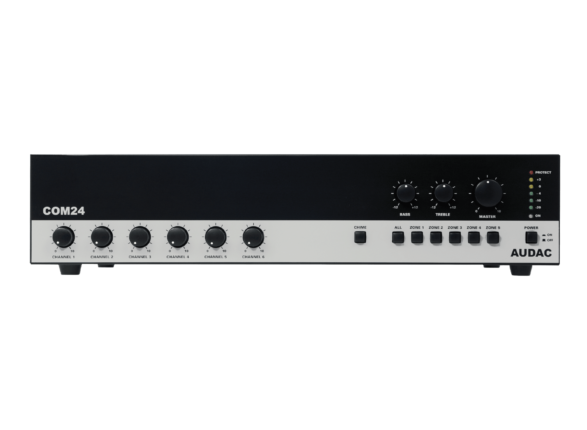 COM24 - Public address amplifier 240W 100V