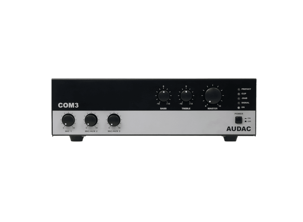 COM3 - Public address amplifier 30W 100V