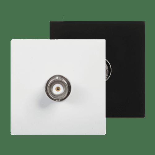 CP45BNC - Connection plate BNC 45 x 45 mm