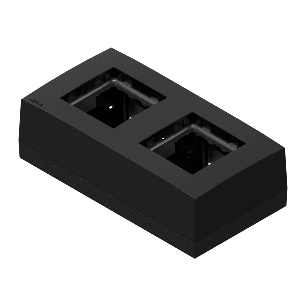 CP45BOX2 - Double surface mount box for 45x45 standard range