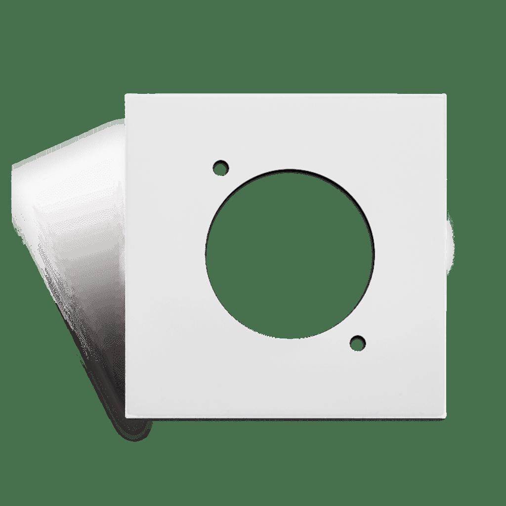 CP45DSZ - Connection plate D-size 45 x 45 mm