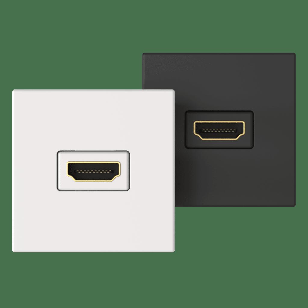 CP45HDM - Connection plate HDMI 45 x 45 mm