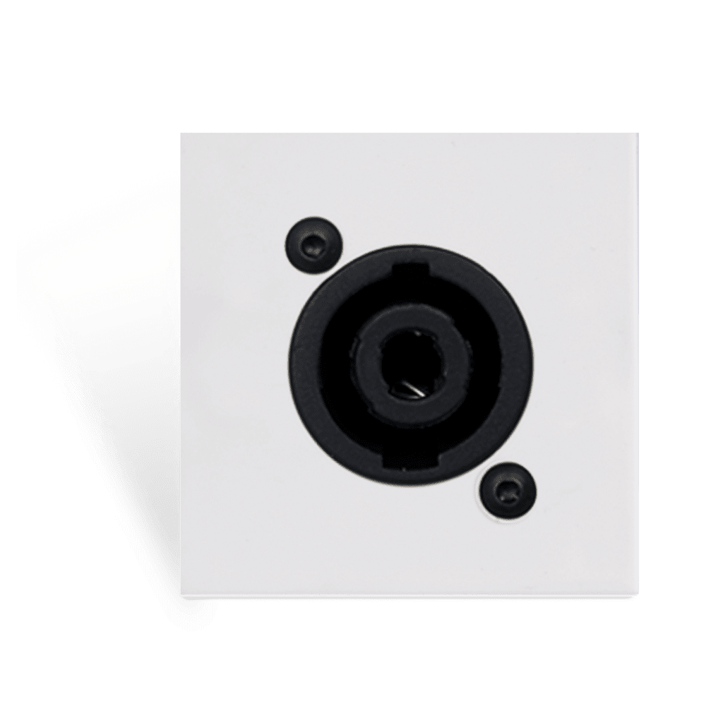 CP45SPES - Connection plate D-size speaker 45 X 45 mm - solderless