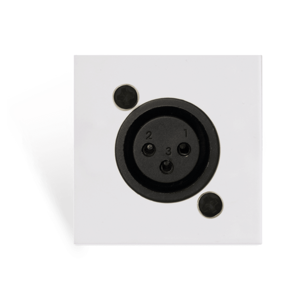 CP43XLF - Connection plate - d-size XLR female - bticino