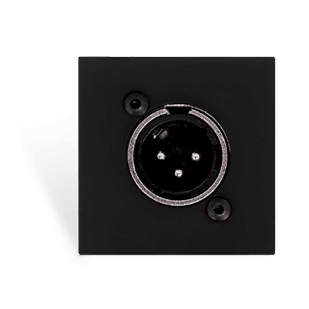 CP43XLM - Connection plate - d-size xlr male - bticino