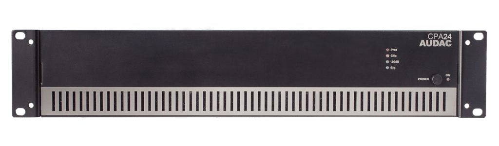 CPA24 - Power amplifier 240W 100V