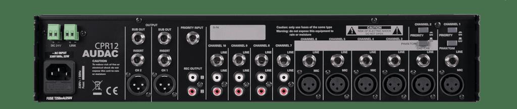 CPR12 - Two zone 10-channel preamplifier
