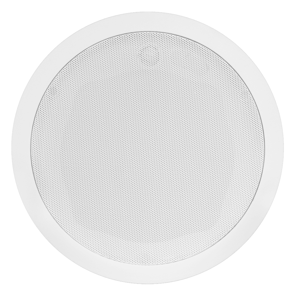 "CS424 - Quick fit 2-way 4"" ceiling speaker with back can 8 Ohm/100V"