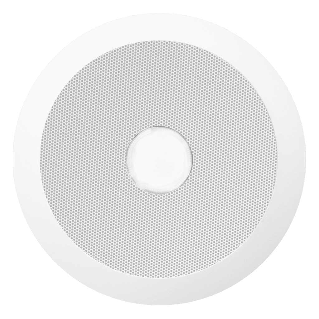 CSE55 - Evacuation quick fit ceiling speaker, 6w, 100v + red led