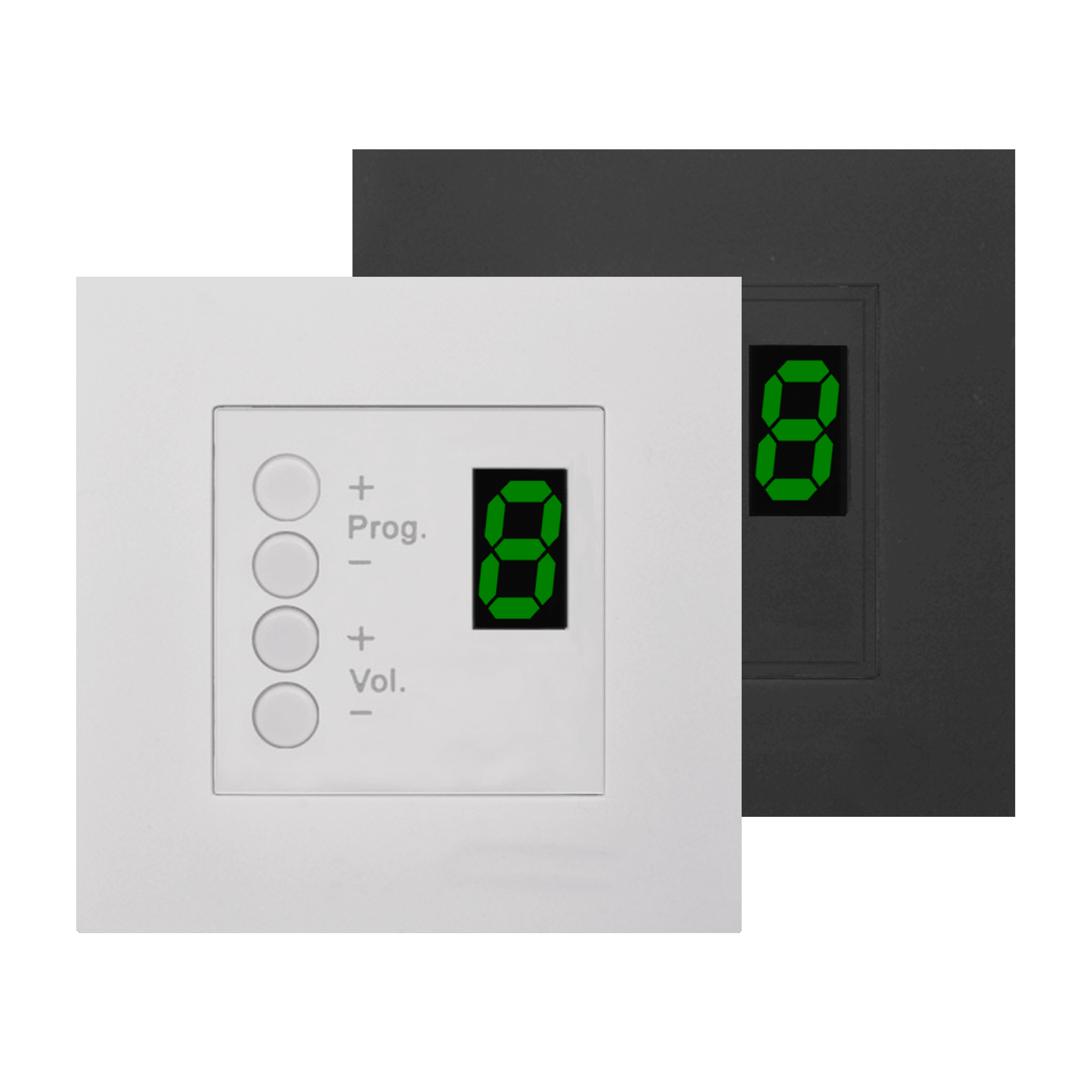DW3018 - Wall panel controller 8 zones for 45x45 standard