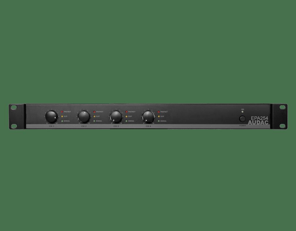 EPA254 - Quad-channel Class-D amplifier 4 x 250W - crossover