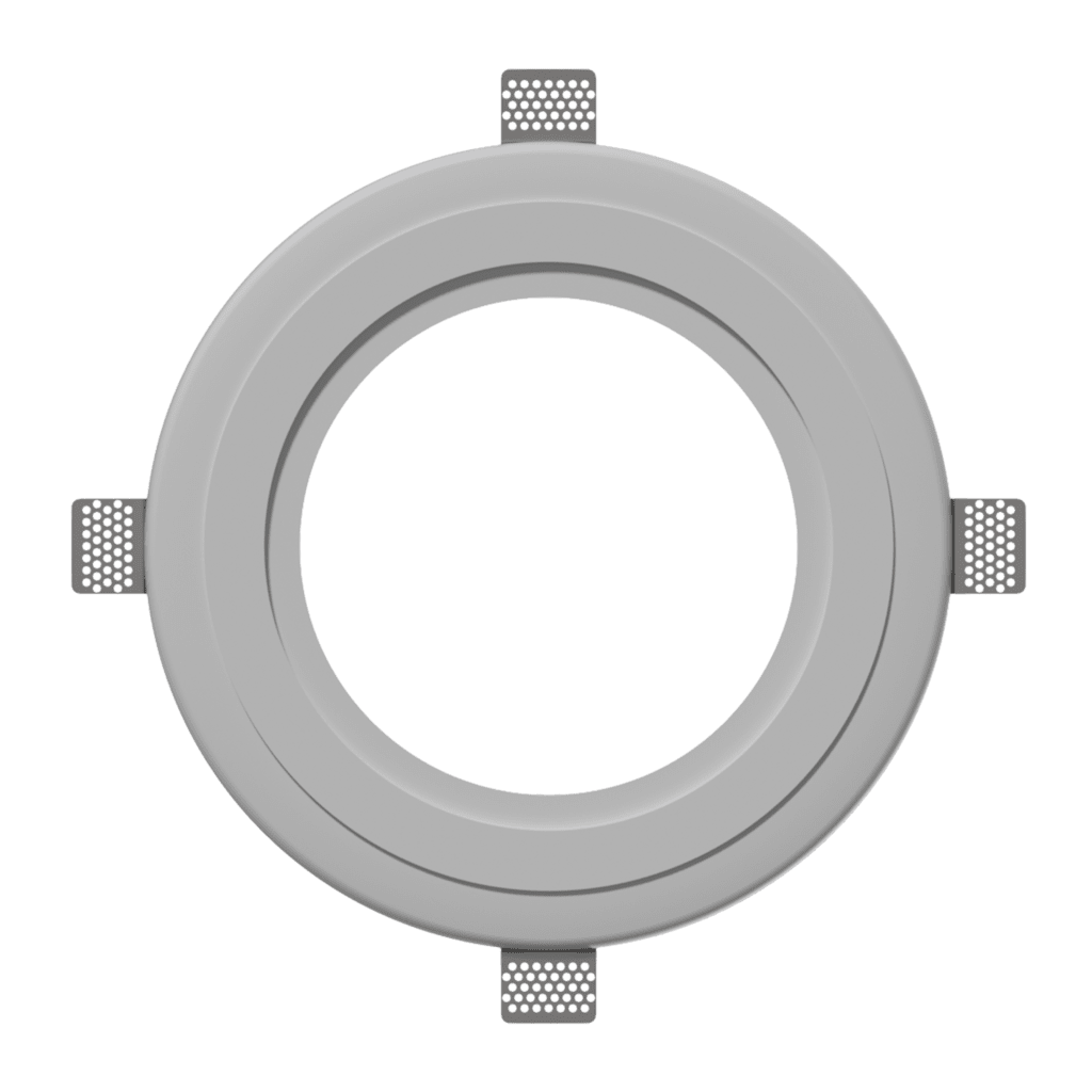 GFC06 - Gypsum flush mount installation ring for CELO6