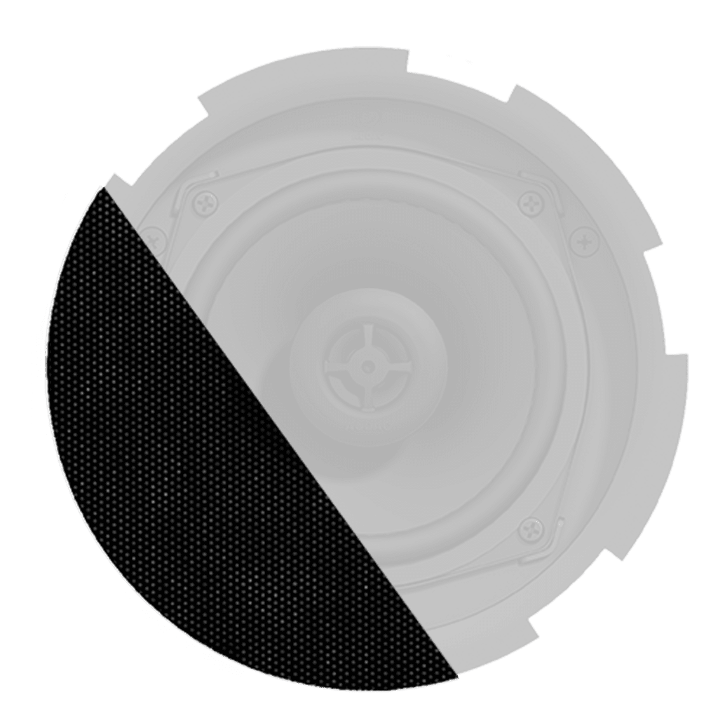GLI05 - TwistFix™ grill for CIRA5 series speakers with cloth & outdoor treatment