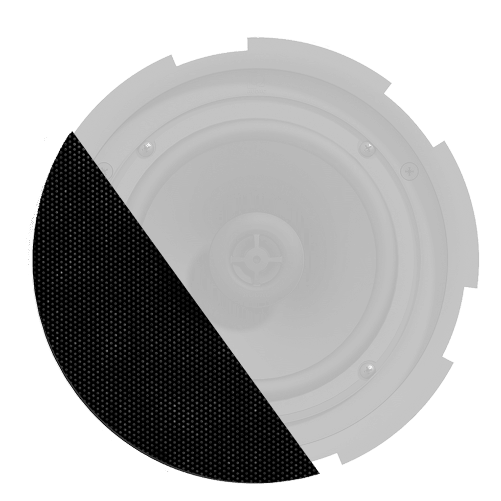 GLI08 - TwistFix™ grill for CIRA8 series speakers with cloth & outdoor treatment