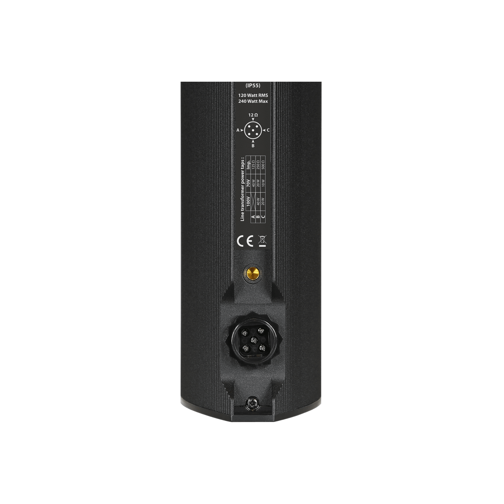 "KYRA12_O - Outdoor design column speaker 12 x 2"""