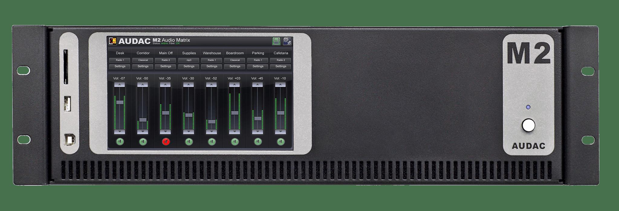 M2 - Multimedia digital audio mixer