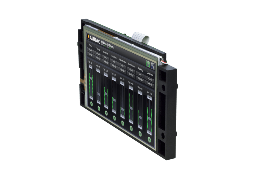 "M2DIS - 7"" touchscreen display kit"