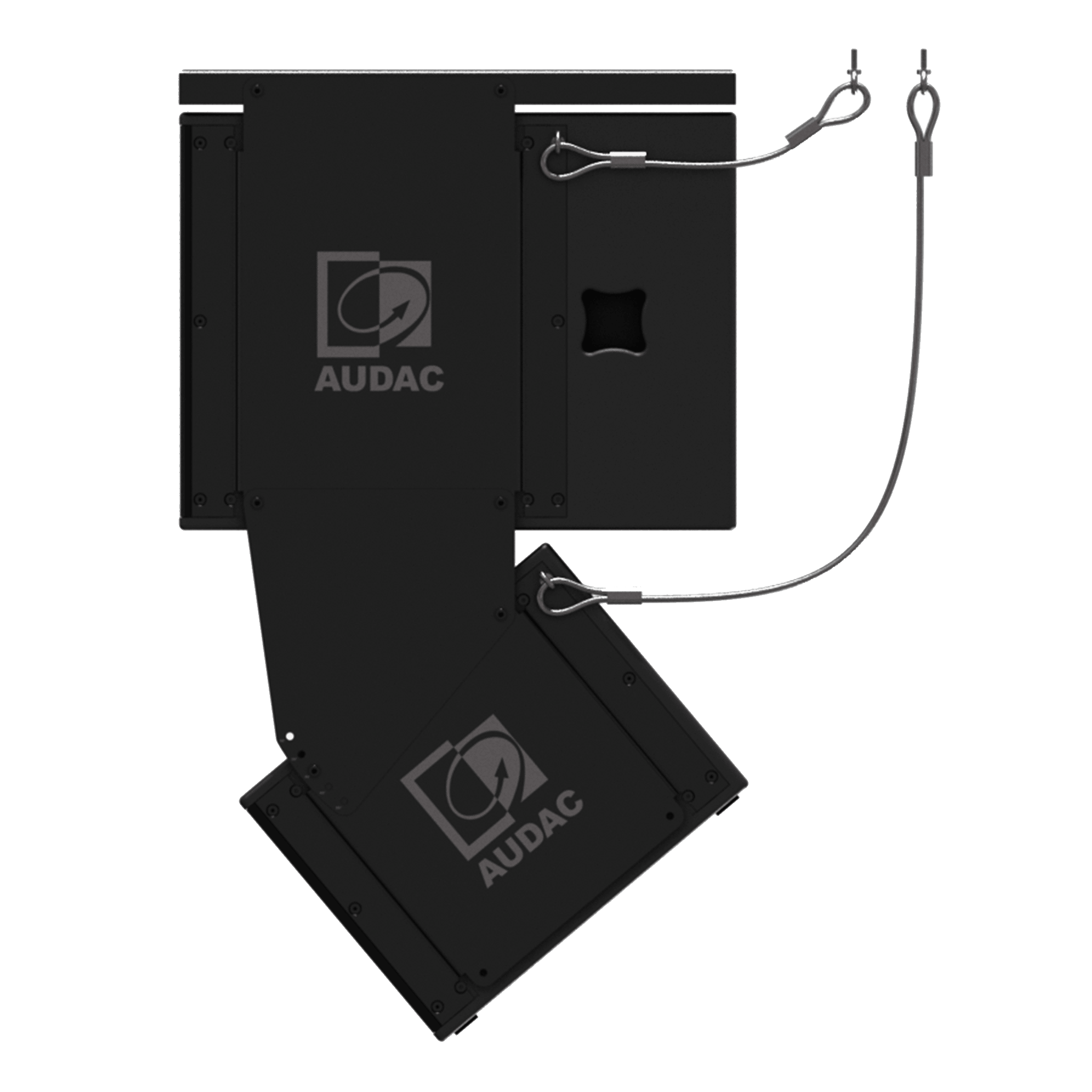 MBK302S - Ceiling flying system for 1x FX3.15 & 1x FX1.18 - black