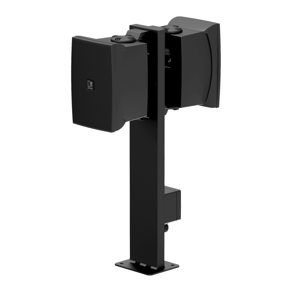 MBK556 - Mounting pole for outdoor speaker - 600 mm height