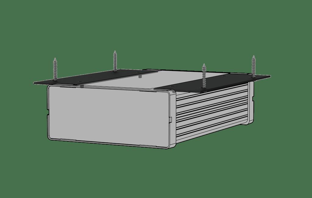 MBS1XX SERIES - Setup box installation accessories